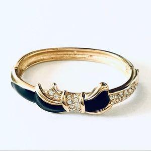 Swarovski Gold-plated Bangle Bracelet